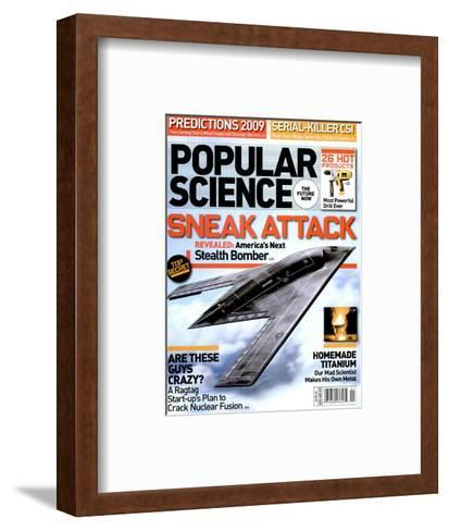 Front cover of Popular Science Magazine: January 1, 2009--Framed Art Print