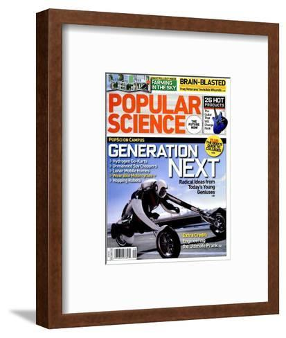 Front cover of Popular Science Magazine: September 1, 2008--Framed Art Print