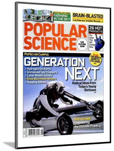 Front cover of Popular Science Magazine: September 1, 2008--Mounted Art Print