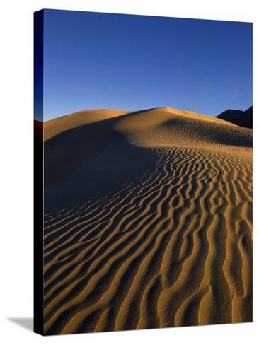 Sand Dunes in Death Valley-Bill Ross-Stretched Canvas Print