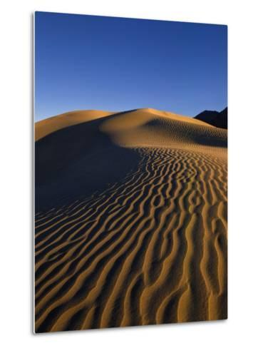 Sand Dunes in Death Valley-Bill Ross-Metal Print