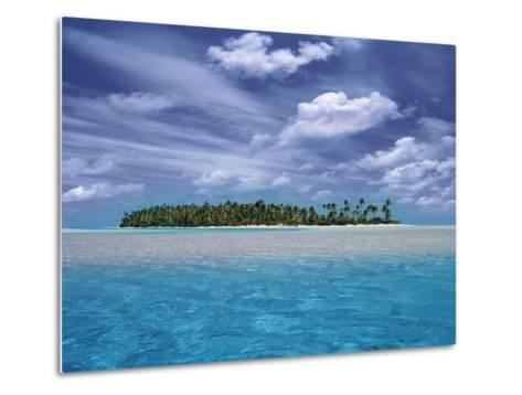 Tropical Island-Bill Ross-Metal Print