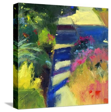 Whitney's Garden-Lou Wall-Stretched Canvas Print