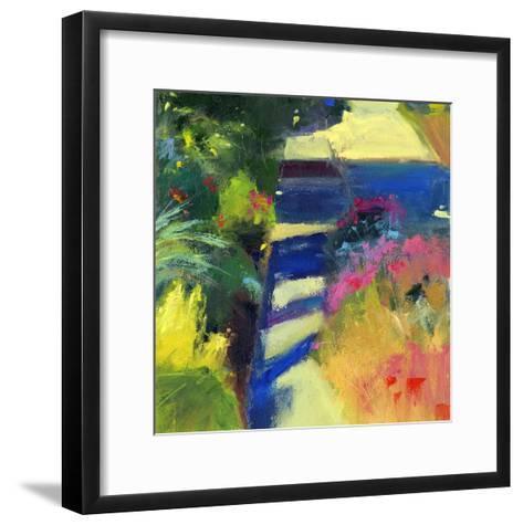 Whitney's Garden-Lou Wall-Framed Art Print