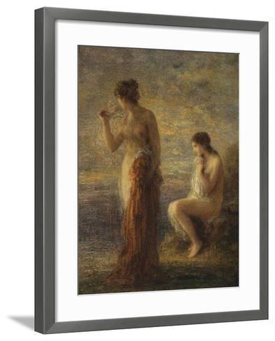 L'Aurora-Henri Fantin-Latour-Framed Art Print