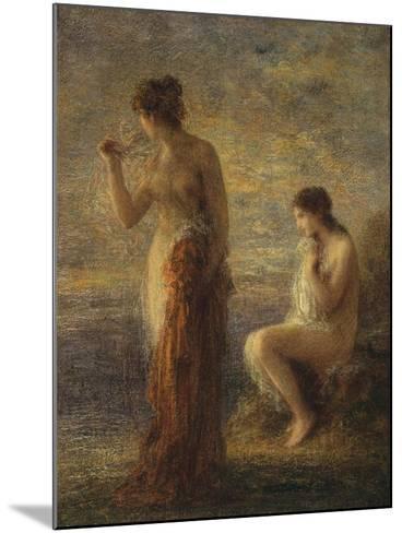 L'Aurora-Henri Fantin-Latour-Mounted Giclee Print