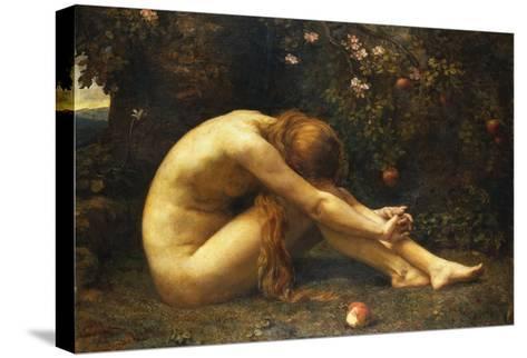 Eve in the Garden of Eden-Anna Lea Merritt-Stretched Canvas Print