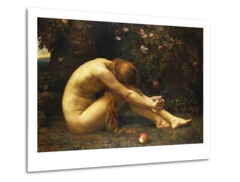 Eve in the Garden of Eden-Anna Lea Merritt-Metal Print