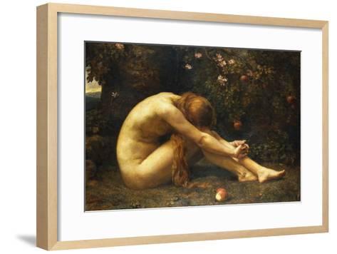 Eve in the Garden of Eden-Anna Lea Merritt-Framed Art Print