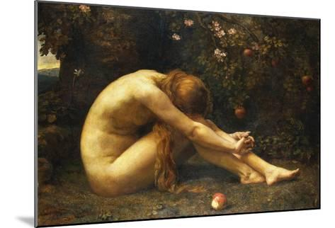 Eve in the Garden of Eden-Anna Lea Merritt-Mounted Giclee Print