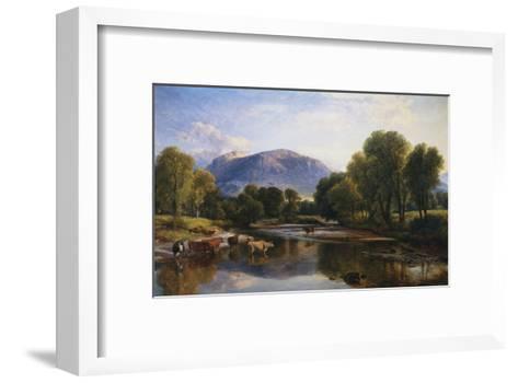 Reflections of a Highland Landscape, Scotland-Henry Brittan Willis-Framed Art Print