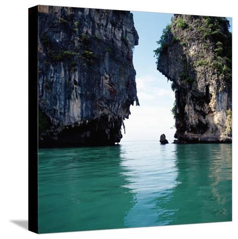Thai coastline--Stretched Canvas Print