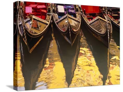 Gondolas, Venice, Italy-Sergio Pitamitz-Stretched Canvas Print