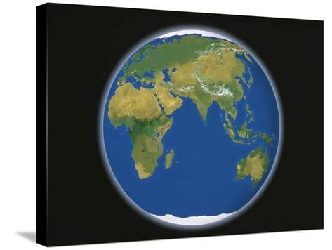 Earth-A^ Huber-Stretched Canvas Print