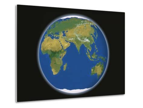 Earth-A^ Huber-Metal Print