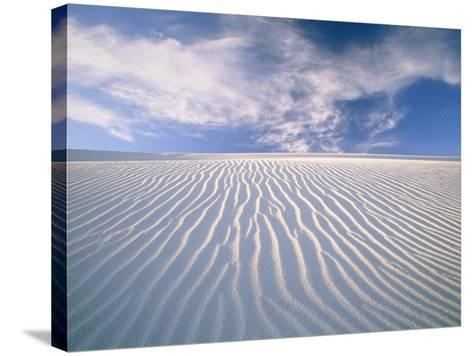 White Sands National Monument-Frank Lukasseck-Stretched Canvas Print