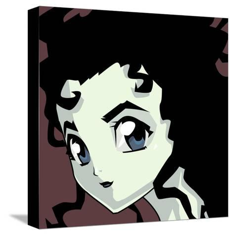 Anime Goth-Harry Briggs-Stretched Canvas Print