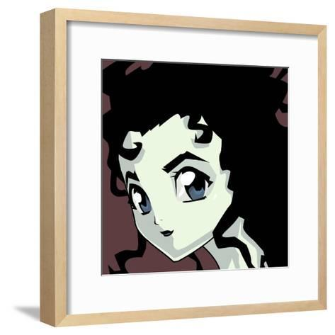 Anime Goth-Harry Briggs-Framed Art Print