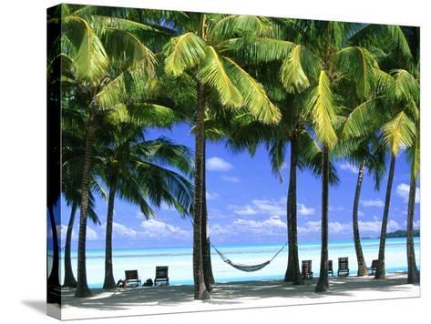 Aitutaki, Cook Islands, New Zealand-Peter Adams-Stretched Canvas Print