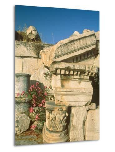 Ruins of Elefsina, Attica, Greece-Rainer Hackenberg-Metal Print