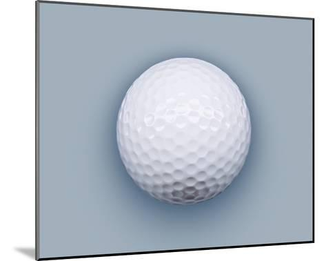 Golf ball-Matthias Kulka-Mounted Giclee Print