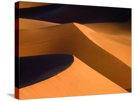 Dunes, Namib desert, Namibia-Frank Krahmer-Stretched Canvas Print