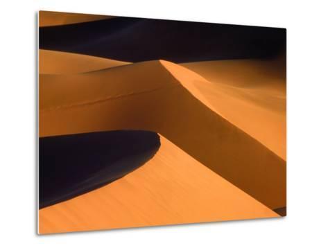 Dunes, Namib desert, Namibia-Frank Krahmer-Metal Print