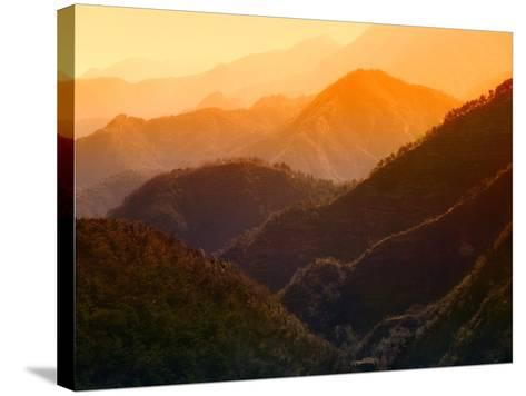 Rolling Mountains near Beijing-Keren Su-Stretched Canvas Print