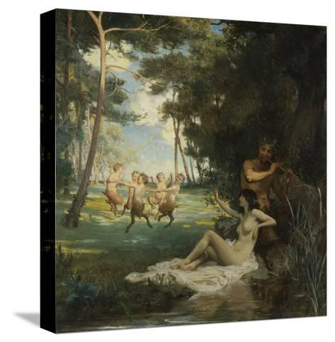 In the Morning of the World-George Percy Jacomb-Hood-Stretched Canvas Print