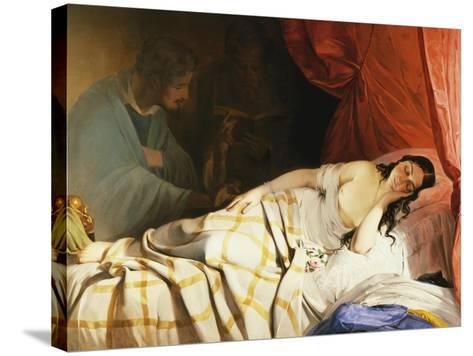 The Dream-Friedrich Von Amerling-Stretched Canvas Print