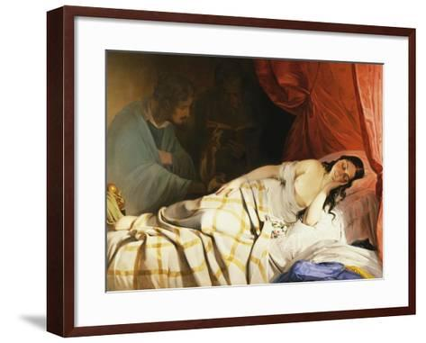 The Dream-Friedrich Von Amerling-Framed Art Print
