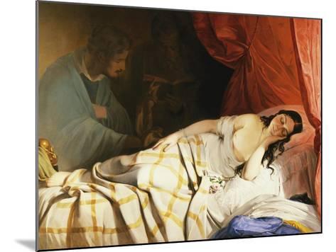 The Dream-Friedrich Von Amerling-Mounted Giclee Print