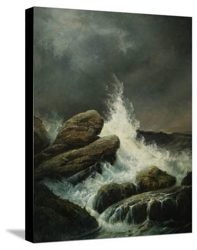 The Wave-Gustave Dor?-Stretched Canvas Print