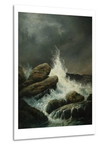The Wave-Gustave Dor?-Metal Print
