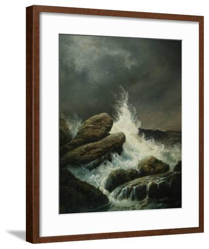 The Wave-Gustave Dor?-Framed Art Print