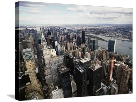 Midtown Manhattan-David Jay Zimmerman-Stretched Canvas Print