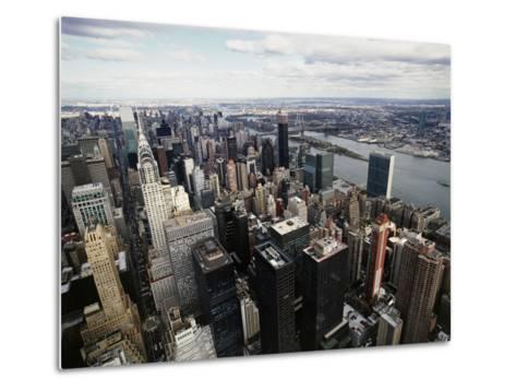 Midtown Manhattan-David Jay Zimmerman-Metal Print