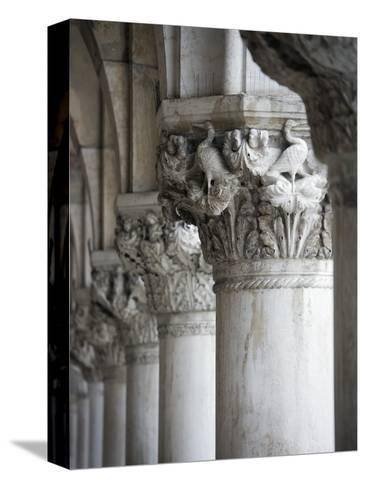 Columns of the Doge's Palace-Tom Grill-Stretched Canvas Print
