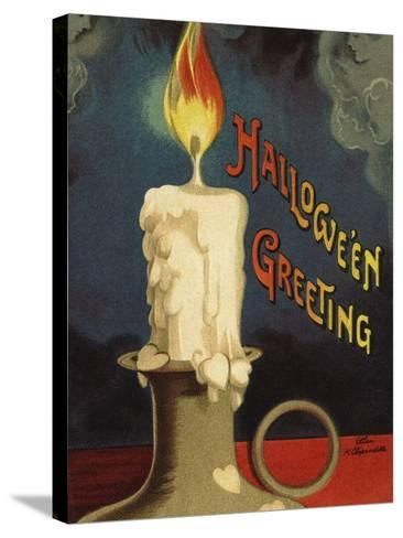 Hallowe'en Greeting-Ellen H^ Clapsaddle-Stretched Canvas Print