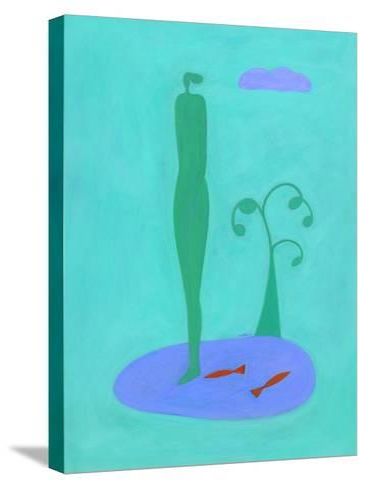 Nofish-Marie Bertrand-Stretched Canvas Print