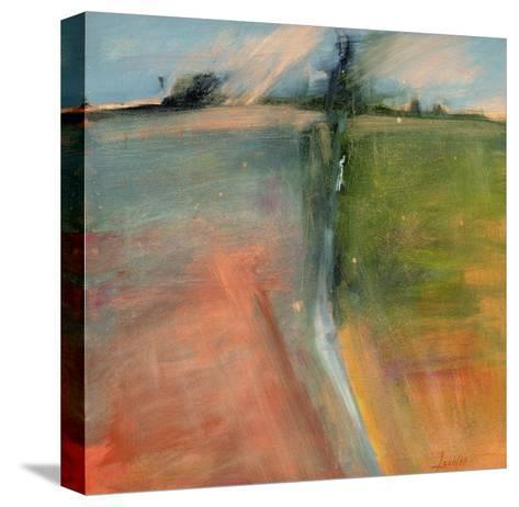 Abstract Day-Lou Wall-Stretched Canvas Print