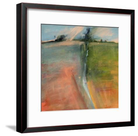 Abstract Day-Lou Wall-Framed Art Print