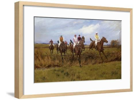Safely Over-Thomas Blinks-Framed Art Print