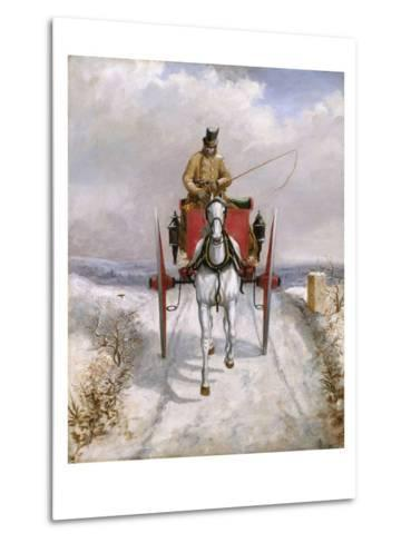 Christmas Deliveries-Henry Thomas Alken-Metal Print