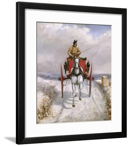 Christmas Deliveries-Henry Thomas Alken-Framed Art Print