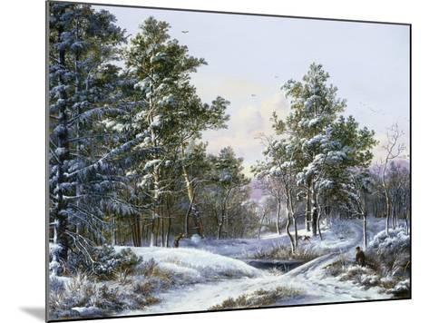 A Fine Winter's Day-Pieter Gerardus van Os-Mounted Giclee Print