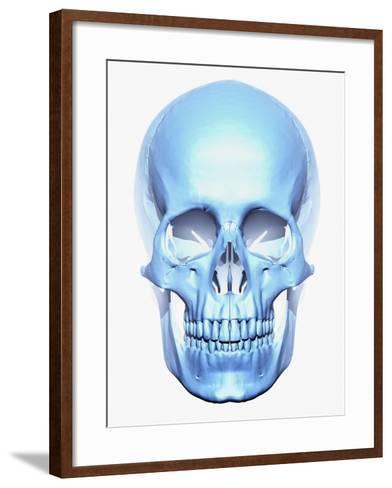 Skull-Matthias Kulka-Framed Art Print