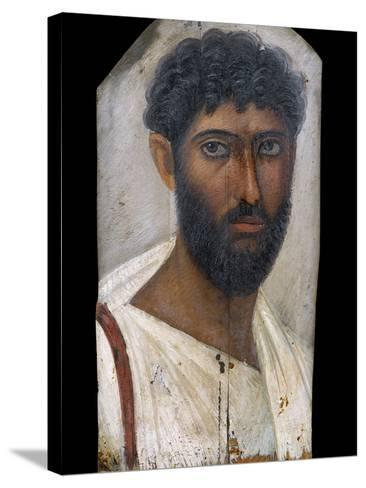 Fayum Portrait of a Bearded Man-S^ Vannini-Stretched Canvas Print