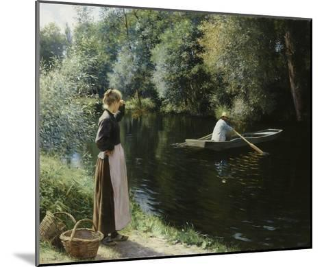 Boating-Leopold-Francois Kowalsky-Mounted Giclee Print
