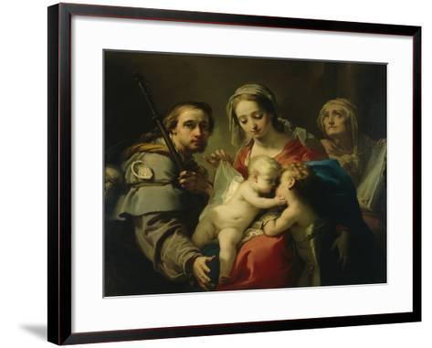 Madonna and Child-Gaetano Gandolfi-Framed Art Print